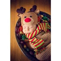 Disfraz De Rodolfo El Reno De Navidad, Venado Para Bebes