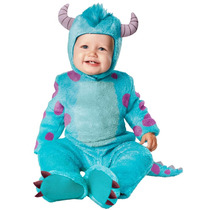 Disfraz Sulley Bebé Monster Inc Talla 12/18 Meses Original