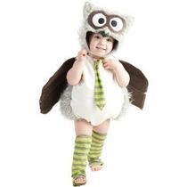Disfraz Bebe Niño Niña Buho Primavera