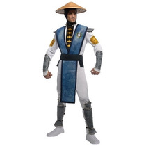 Disfraz Mortal Kombat Raiden Hombre Adulto Halloween