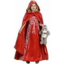 Disfraz De Caperucita Roja Para Niñas, Envio Gratis