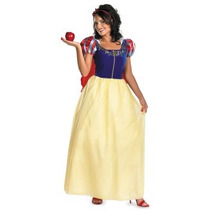 Disfraz De Blanca Nieves Para Damas, Princesas, Adultos