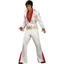 Disfraz De Lujo De Elvis Para Adultos, Envio Gratis