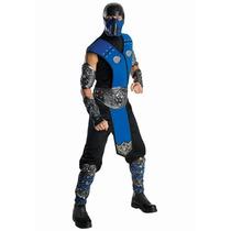 Disfraz Mortal Kombat Sub Zero Hombre Adulto Halloween