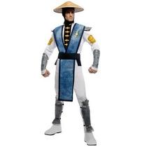 Disfraz De Raiden Mortal Kombat Para Adultos, Envio Gratis