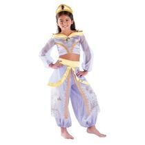 Disfraz De Princesa Jasmine Aladino Para Niñas, Envio Gratis