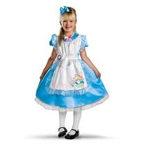 Disfraz De Alicia Pais Maravillas Para Niñas, Envio Gratis