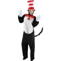 Disfraz De Cat In The Hat Para Adultos, Envio Gratis