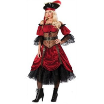 Disfraz De Lujo De Pirata, Steampunk Para Damas