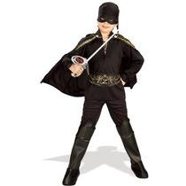Disfraz De Zorro / Bandido Para Niños, Envio Gratis