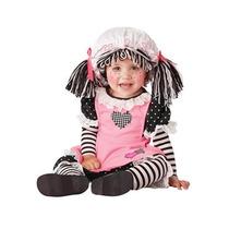 Disfraz De Muñeca Para Bebes, Envio Gratis