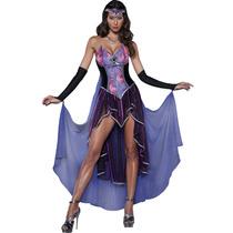 Disfraz Bruja Mujer Hechicera Halloween Dia De Muertos Sexy