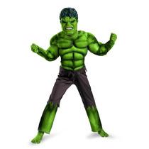 Disfraz De Hulk The Avengers Clasico 100% Original De Marvel