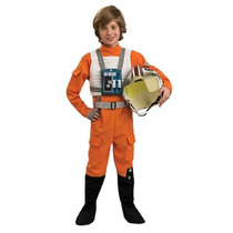 Disfraz Star Wars De Luke Skywalker X-wing Pilot Para Niño