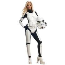 Disfraz De Stormtrooper Star Wars Para Damas, Envio Gratis