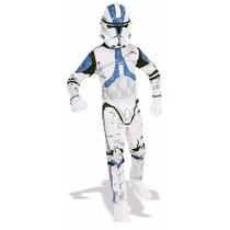 Disfraz Niño Clone Trooper Star Wars Original Marca: Rubie