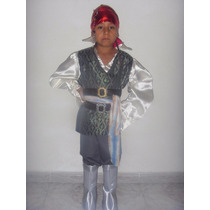 Disfraz Pirata Niño Capitan Jack Sparrow Talla 4 Años Pirata