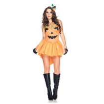 Disfraz De Calabaza De Halloween Para Damas, Envio Gratis