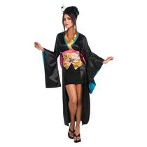 Disfraz De Geisha, Oriental, Japon Para Damas, Envio Gratis