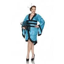 Disfraz De Geisha, Oriental, Japonesa P/ Damas Envio Gratis