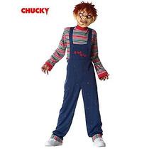Disfraz De Chucky Muñeco Diabolico Para Niños Envio Gratis