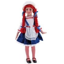 Disfraz De Muñeca Rag Doll Para Niñas, Envio Gratis
