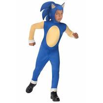 Disfraz De Sonic Para Niños, Envio Gratis