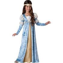 Disfraz Historico, Renacimiento, Medieval Para Niñas