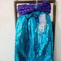 Hermoso Disfraz De La Sirenita Ariel De Lujo