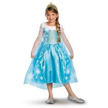 Disfraz De Elsa, Frozen Disney Para Niñas 3-4, Envio Gratis