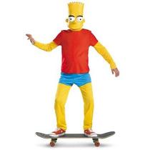 Disfraz De Bart Simpson Para Niños, Envio Gratis