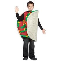 Disfraz De Taco Para Niños, Envio Gratis