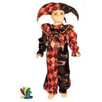 Disfraz Halloween Arlequin Niño Talla 4