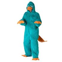 Disfraz De Perry El Ornitorrinco Phineas Y Ferb Para Adultos