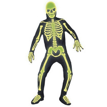 Disfraz De Muerte, Esqueleto, Calavera Para Adultos