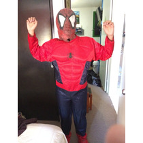 Disfraz Profecional Hombre Araña Spider Man Adulto Y Joven