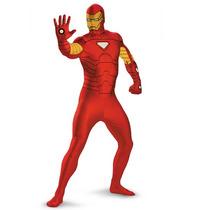 Disfraz Iron Man Avengers Adulto Hombre De Lujo Talla 42/46