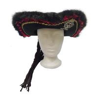 Accesorio Halloween Disfraz Sombrero De Pirata Para Hombre