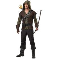 Disfraz Robin Hood Arquero Adulto Arrow Hombre Halloween