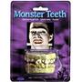 Dientes De Zombie Disfraz Halloween Monstruo Frankenstein
