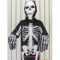 Disfraz De Adulto Calaca Esqueleto Calavera Diablo Monje