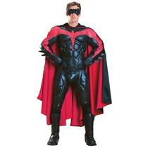 Disfraz De Lujo De Robin, Batman Para Adultos, Envio Gratis