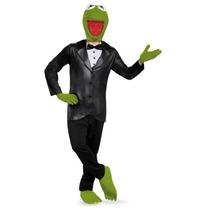 Disfraz Rana Rene Adulto Kermit Muppets Halloween Hombre