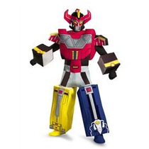 Disfraz De Power Rangers Megaforce Megazord Para Adultos