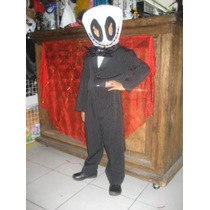 Bonito Disfraz De Jack Skellington - Disfraces Halloween