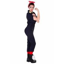 Disfraz Retro Rosie Mujer Trabajadora 50