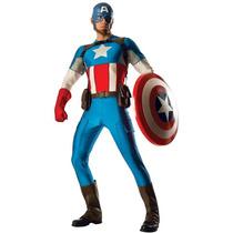 Disfraz Capitan America Adulto Edición De Colección Avengers