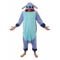 Disfraz / Pijama / Mameluco De Stitch, Disney Para Adultos