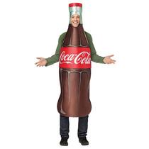 Disfraz De Botella De Coca Cola Para Fiestas Y Reuniones