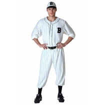 Disfraz De Baseball Vintage Retro 50